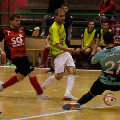 El FS Cuéllar cierra el año visitando al equipo revelación, el Ibararte
