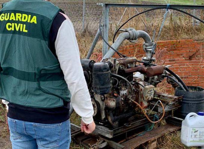 Detenidas dos personas por hurtos en explotaciones agrícolas de Sanchonuño