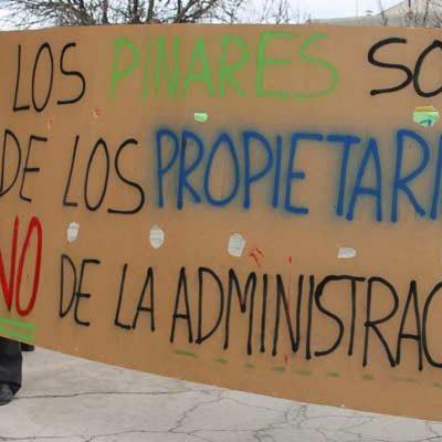 Suspendida la declaración de utilidad pública y urgente ejecución de la concentración de Gomezserracín Monte