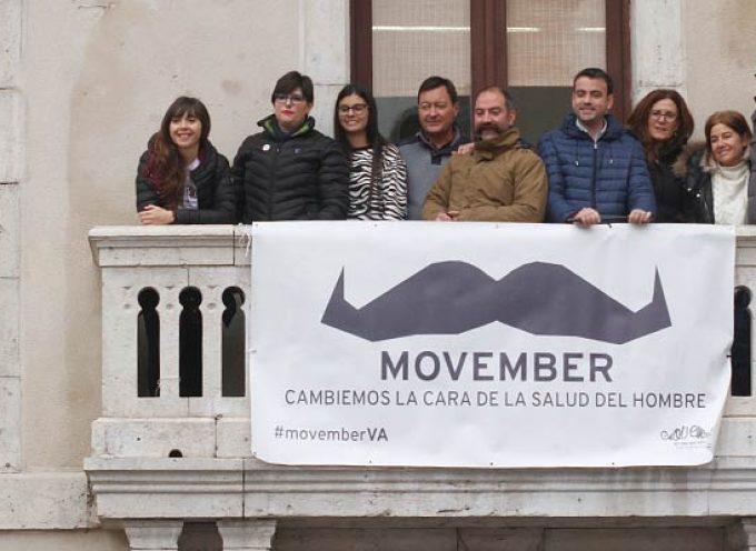 Los bigotes del Movimiento Movember llegan al Ayuntamiento de Cuéllar