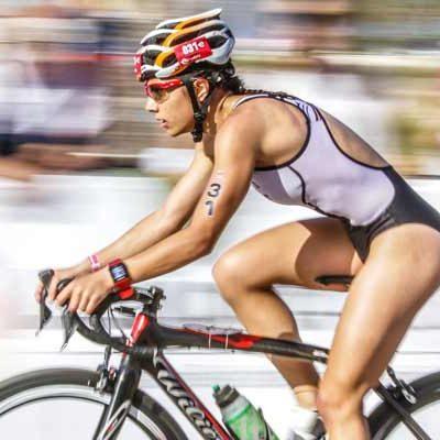 Los mejores del triatlón regional se dan cita en Cuéllar
