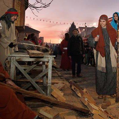 Zarzuela del Pinar celebró con fuegos artificiales el nacimiento de Jesús