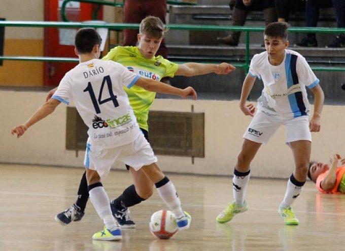 Segunda jornada a domicilio del FS Cuéllar juvenil tras su derrota frente a Ríver Zamora