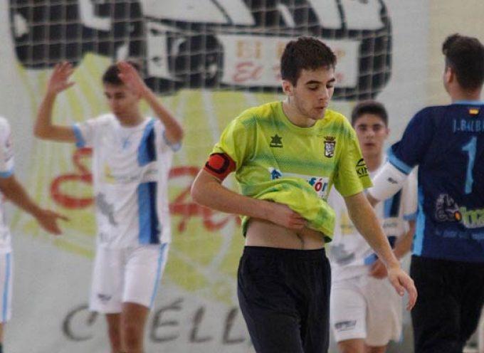 Clara derrota del FS Cuéllar juvenil en Ciudad Rodrigo