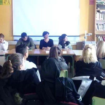 Honorse celebró un encuentro con emprendedores en el instituto de Cantalejo