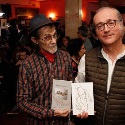 Alfonso Rey y Luis Sanz `Chanh´ comparten el riesgo de publicar un poemario ilustrado