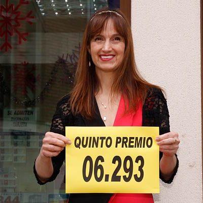 Un quinto premio de 6.000 euros vendido en la administración de lotería de Cuéllar