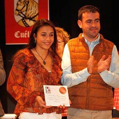 Marina Muñoz se llevó la mayor ovación de la Gala Regional de Triatlón