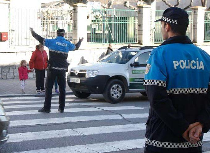 Los nuevos agentes de la Policía Local de Cuéllar inician sus prácticas