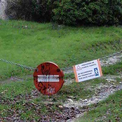 Medio Ambiente insta a evitar transitar por los parques ante la previsión de fuertes vientos