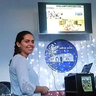 Almudena Pascual contará su experiencia de voluntariado  en la Casa Joven