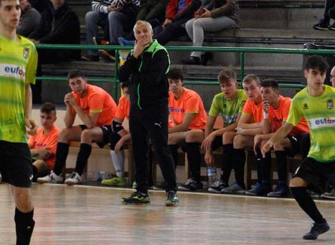 El FS Cuéllar juvenil comienza la segunda vuelta con derbi en Valverde