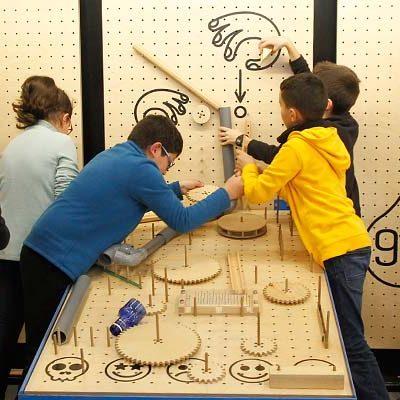 Talleres itinerantes para despertar el ingenio de los escolares con Creactivity