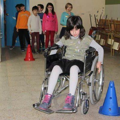 `Tiempos Paralímpicos´ acercó a los alumnos del CEIP San Gil al deporte adaptado