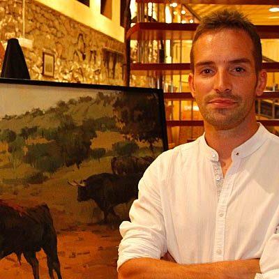 El pintor sepulvedano Mario Pastor será el encargado de crear la imagen del cartel de las fiestas de 2020