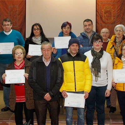 El belén de la iglesia de Dehesa de Cuéllar se alza con el primer premio del certamen de Villa y Tierra
