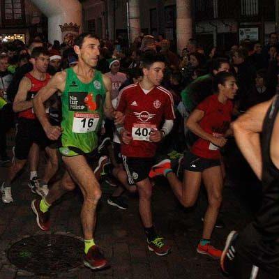 Eduardo Esteban y Marina Muñoz se impusieron en una San Silvestre que batió récord de participantes