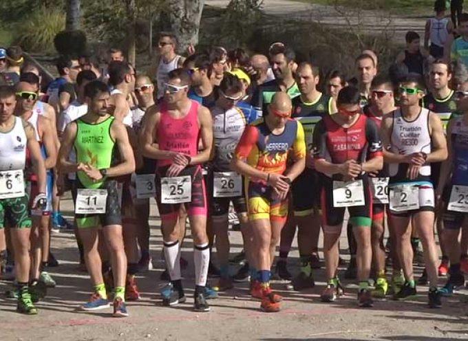Ciento veinte menores mostraron su destreza deportiva en el Duatlón Cross de Cuéllar
