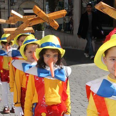 El cine, las `Mil y una noches´ y el arte centran los desfiles de carnaval de los colegios de Cuéllar