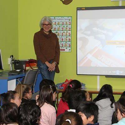 Los alumnos de San Gil descubrieron el proceso de creación de un libro