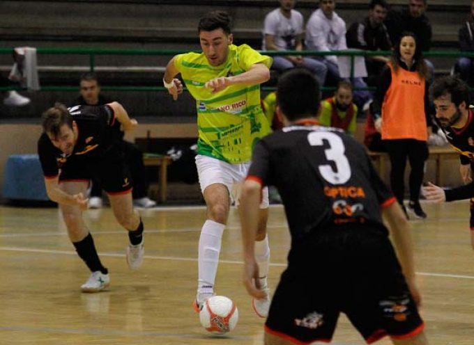 Tercera victoria consecutiva del FS Cuéllar en casa