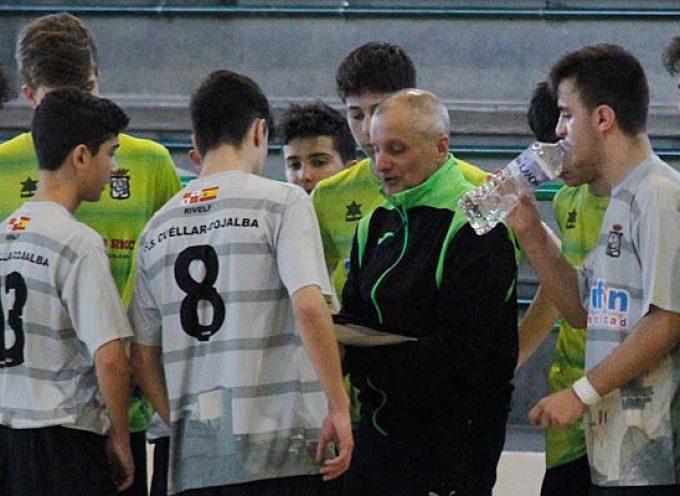 FS Cuéllar juvenil vuelve a la competición recibiendo al tercer clasificado