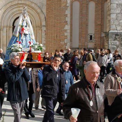La virgen de Las Candelas no recorrerá hoy las calles de San Andrés