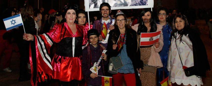 `Cuellarvisión´ triunfa en el carnaval cuellarano