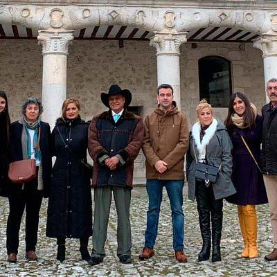 Una delegación del municipio mejicano de Yuriria visitó Cuéllar