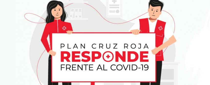 Cruz Roja responde frente al COVID-19 en Cuéllar