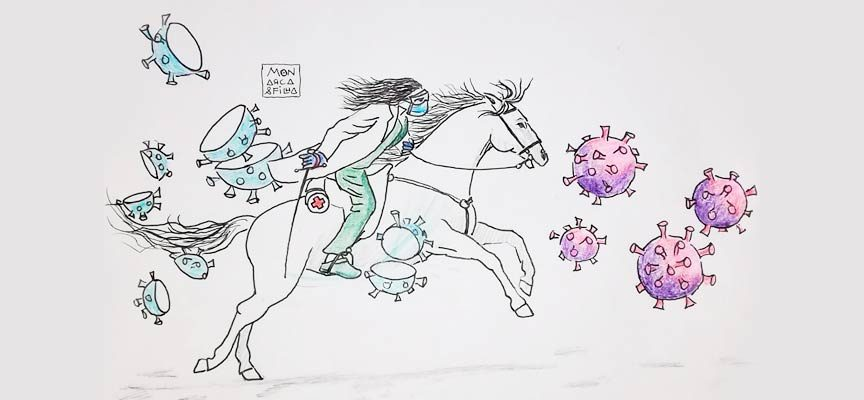 Los `coronadibus´ de Alfonso y Carmen Rey han mostrado la realidad de la pandemia