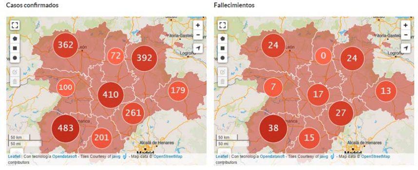 Segovia suma 38 nuevos positivos en COVID19 y 32 altas hospitalarias