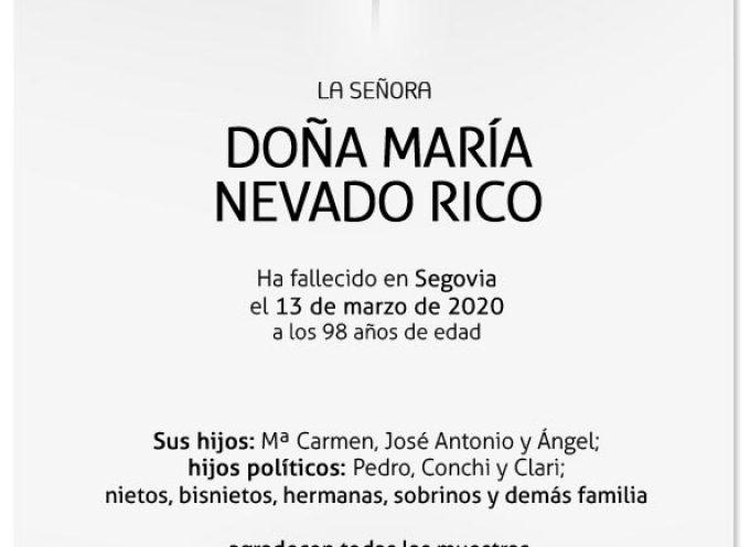 María Nevado Rico