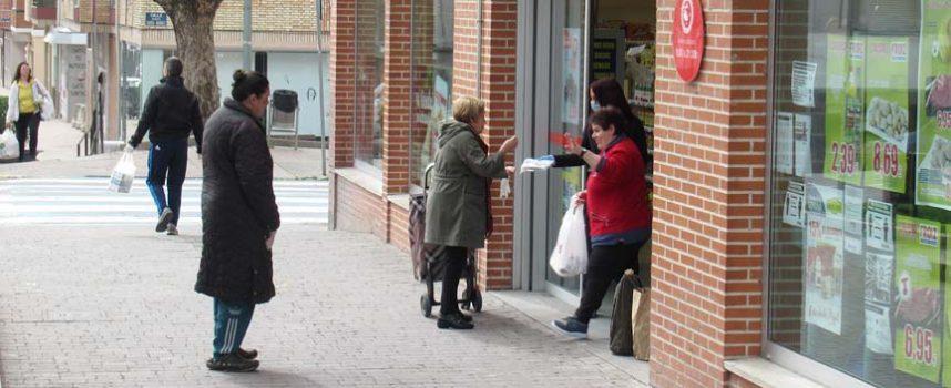 Cruz Roja acerca a supermercados de Cuéllar y Nava de la Asunción la recogida del Plan Cruz Roja Responde