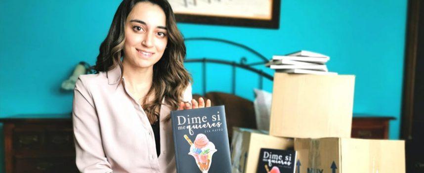 La cuellarana Eva Gómez envía libros a los hospitales para los enfermos de coronavirus