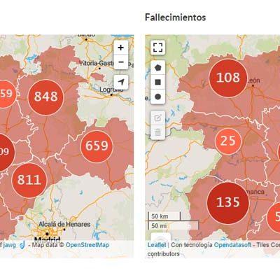 Segovia es la segunda provincia de la región con más altas hospitalarias por COVID-19
