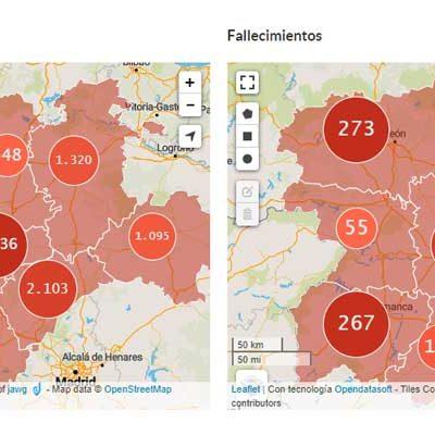 Segovia supera los 2.100 casos confirmados de la COVID-19