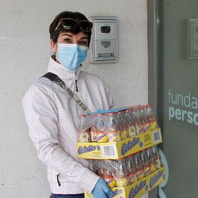 Un establecimiento hostelero dona algunos de sus productos al centro de Fundación Personas en Cuéllar