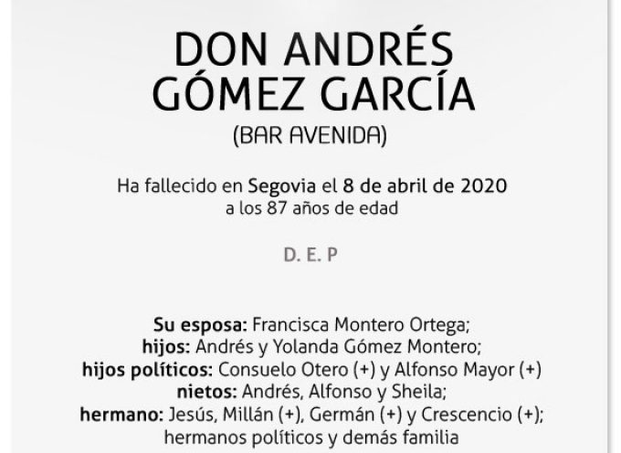Andrés Gómez García