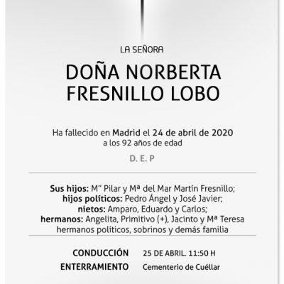 Norberta Fresnillo Lobo