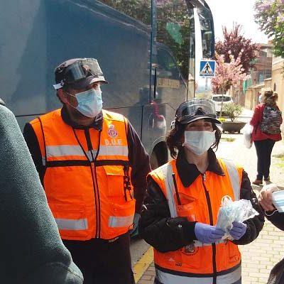 Un nuevo bando municipal anuncia la distribución de mascarillas en establecimientos comerciales y a peatones en Cuéllar