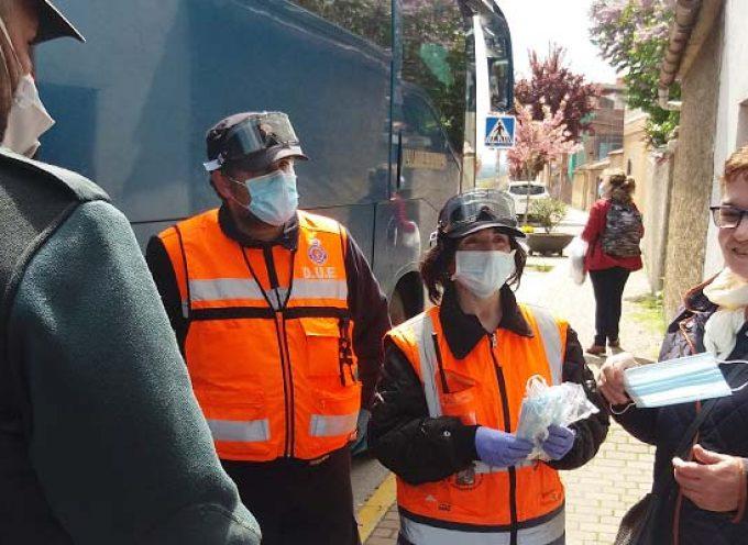 El Ayuntamiento de Cuéllar realiza un nuevo reparto de 2.000 mascarillas