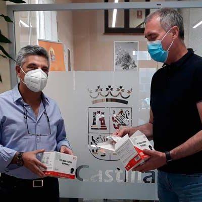El Ayuntamiento de Chañe dona 1.010 mascarillas para sanitarios