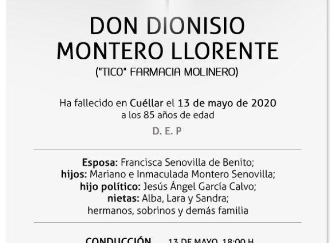 Dionisio Montero Llorente