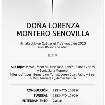 Lorenza Montero Senovilla