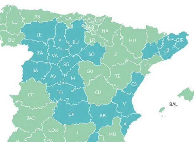Segovia pasa a la fase 1 junto a toda la región