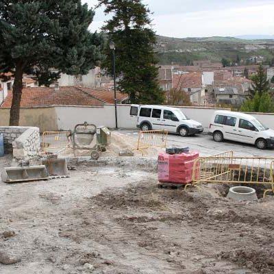 La segunda fase de las obras de la plaza del Campo resaltará su potencial como mirador de la villa