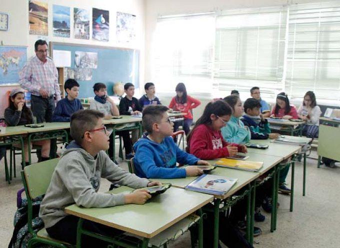 Educación concluirá la mejora de la eficiencia energética del colegio San Gil actuando sobre siete aulas