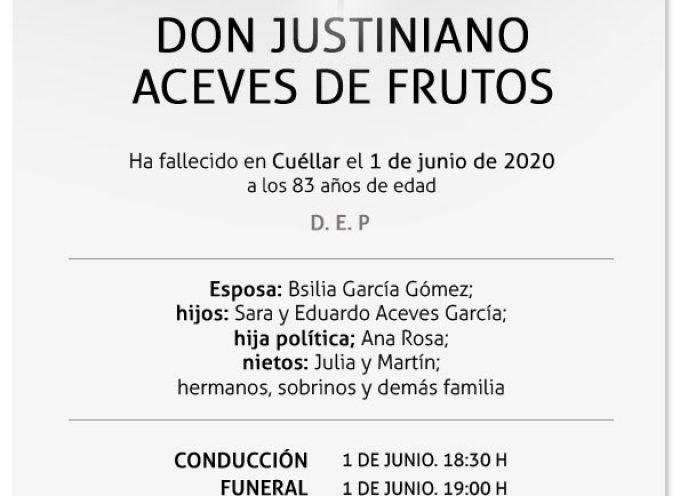 Justiniano Aceves de Frutos