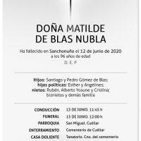 Matilde de Blas Nubla